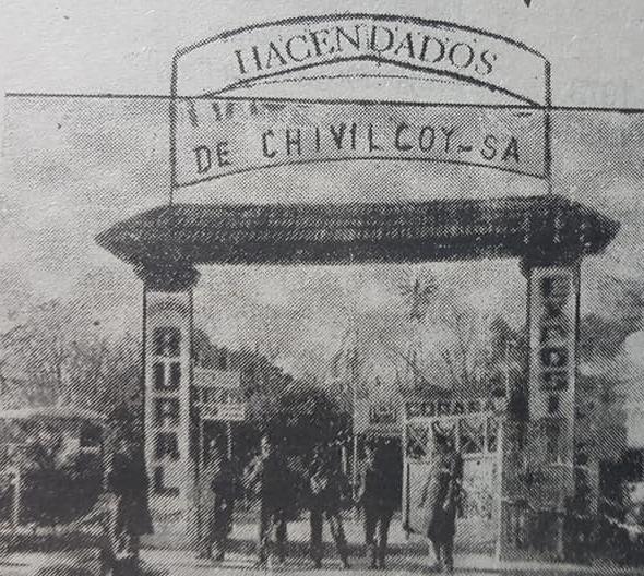 Acuarelas evocativas de la Asociación Rural de Chivilcoy. La primera Exposición, de dicha entidad, realizada en octubre de 1948.