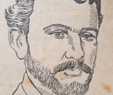 El inspirado y notable, poeta, periodista traductor y diplomático chivilcoyano, Leopoldo Díaz (1862-1947), quien colaboró, cuando contaba con 18 años de edad, en las columnas del semanario «El Álbum del Hogar», fundado y dirigido, por el poeta y periodista Gervasio Méndez (1848-1897), durante los años, 1880 y 1881.