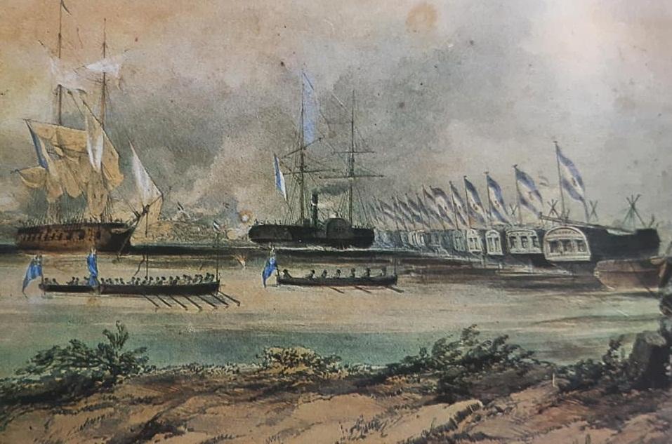 El Día de la Soberanía Nacional: La evocación del combate, de la Vuelta de Obligado, el 20 de noviembre de 1845, y los homenajes tributados en Chivilcoy.