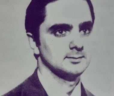 Carlos Armando Costanzo, fundador y director-organizador del Archivo Literario Municipal.