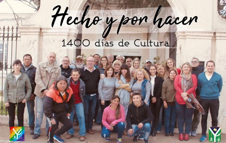 Las múltiples actividades, de la secretaría de Cultura y Educación, de la Municipalidad de Chivilcoy, a lo largo  de 1400 días de labor.