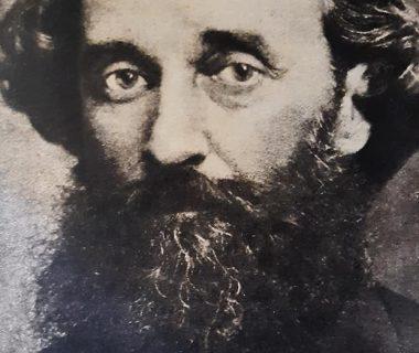 Teniente General, Bartolomé Mitre (1821-1906), fundador, director y gran propulsor del matutino porteño «La Nación», cuyo primer número, data del martes 4 de enero de 1870.