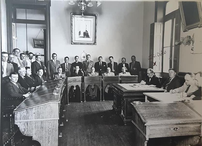Recordando a Don Isidro Pascual Costanzo, ex secretario del Honorable Concejo Deliberante, en las décadas de 1930 y 1940.