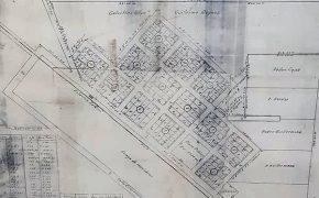 Antiguo plano, de la localidad rural de La Rica, confeccionado en el mes de mayo de 1937, por el ingeniero Domingo A. Basso. Destacado y prestigioso profesional, desarrolló durante varias décadas, una fecunda y significativa labor, aquí, en nuestra ciudad de Chivilcoy, y falleció, finalmente, en La Plata, hacia el año 1950.