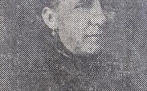Doña Petrona Calderón, esposa de Don Francisco Ortiz y Acosta, y madre del inspirado poeta chivilcoyano, Carlos Ortiz.