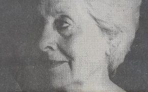 La notable actriz, Blanca Pérez de García (1918-2011), legítima y merecidamente considerada, «La Dama del Teatro». Durante varias décadas, fue presidenta de la Agrupación Artística Chivilcoy.