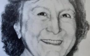 La artista plástica y docente, profesora María Ester Marangoni de Posik (1942-2013).