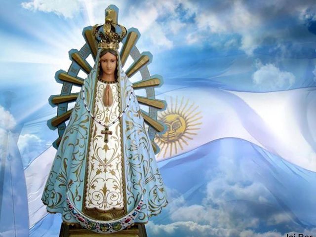 Plegaria lunfarda a la Virgen de Luján