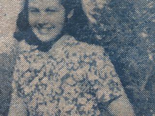 La joven actriz, Elsa Beco.