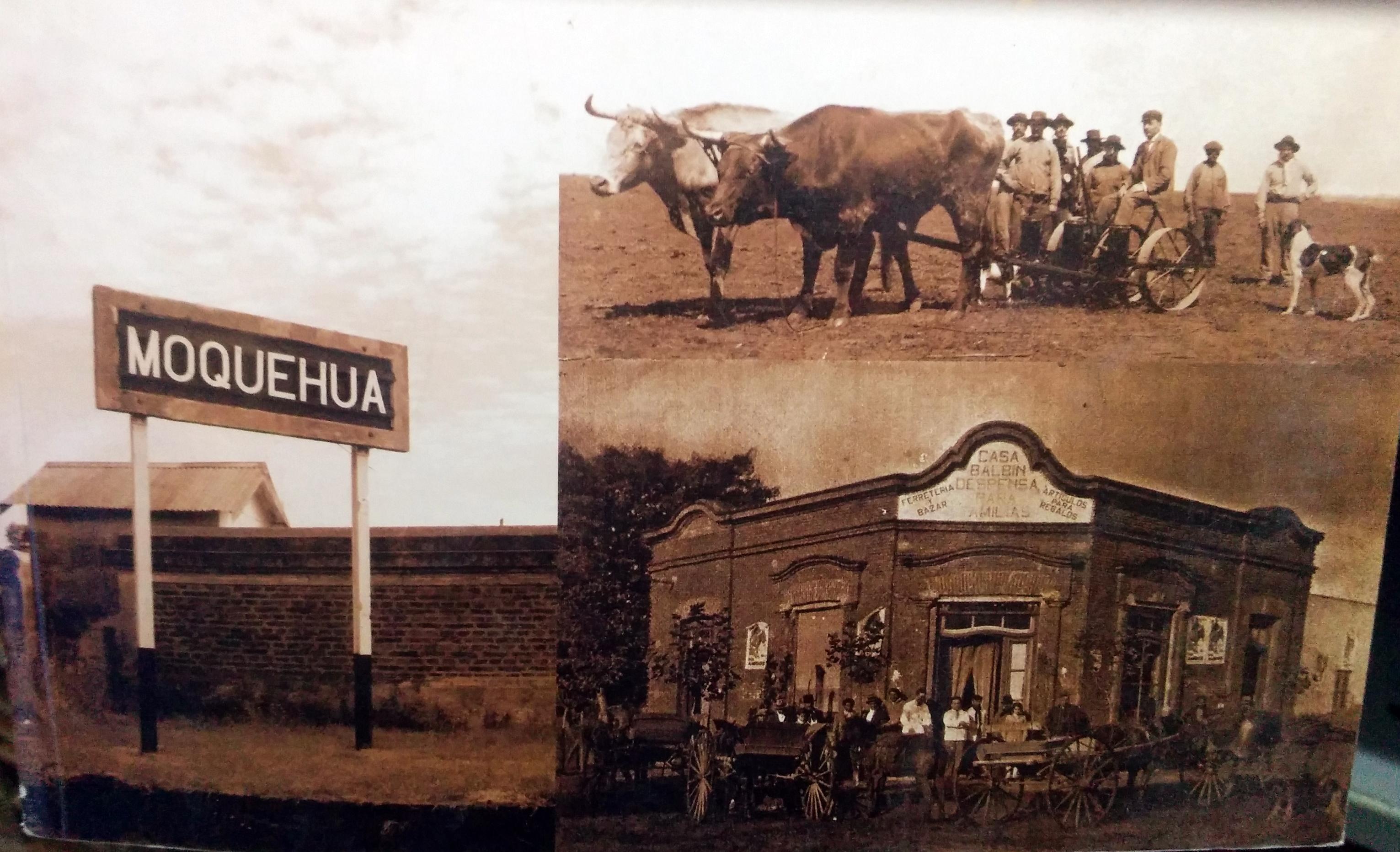 Fundación de la localidad de Moquehuá (1909)