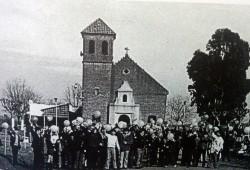 Iglesia San José Obrero, declarada Parroquía, en agosto de 1954.