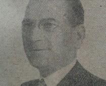 Don Pascual Falabella, ex intendente de Chivilcoy, entre 1952 y 1955.