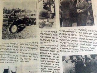 Ceremonia de plantación de retoño, del Pino de San Lorenzo (30 de agosto de 1980).