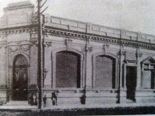 Antigua fachada, del Banco Francés del Río de la Plata.