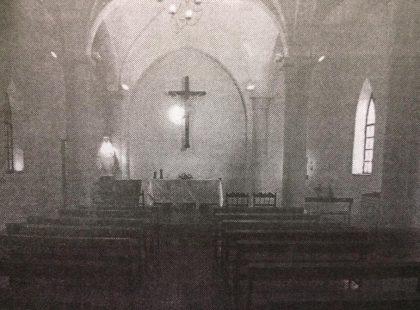 Capilla del Colegio Nuestra Señora de la Misericordia, inaugurado el 25 de noviembre de 1933.