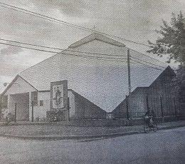 El templo de la parroquia Cristo Obrero-San Expedito, inaugurado el 31 de marzo de 1972.