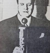El destacado y prestigioso, escritor, poeta, periodista y diplomático chivilcoyano, Don Arturo Lagorio (1892-1969), miembro de número, de la Academia Porteña del Lunfardo, desde 1963, hasta su fallecimiento.