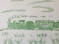 Dibujos alusivos, sobre la fundación de nuestra ciudad, realizados en la década de 1950.