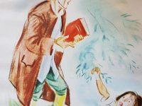 Ilustraciones, del libro de Fábulas, del notable escritor francés, Jean de La Fontaine (1621-1695); una obra literaria, que a través de una serie de sabias enseñanzas, señalaba el recto camino, de la conducta moral y del sentido ético, de cada ser humano