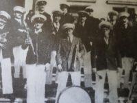 La pintoresca e inolvidable banda de música, del maestro italiano Don Cándido Morábito, dirigida por su hijo José, cariñosamente apodado «Pepito».