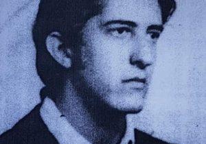 El joven Carlos Esteban Alaye, hijo de la Madre de Plaza de Mayo Adelina E. Dematti de Alaye, secuestrado y desparecido, el 5 de mayo de 1977.