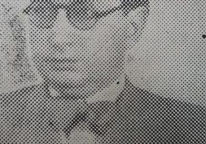 El caracterizado y presigioso, poeta, escritor y docente, profesor Miguel Anuncio Tarzia. Autor de la letra, del «Himno al Colegio Nacional», publicado en el mes de mayo de 1932, el profesor Tarzia, había nacido en Tucumán, en 1895, y falleció en nuestra ciudad de Chivilcoy, en la cual residía, desde 1922, el 27 de agosto de 1948.