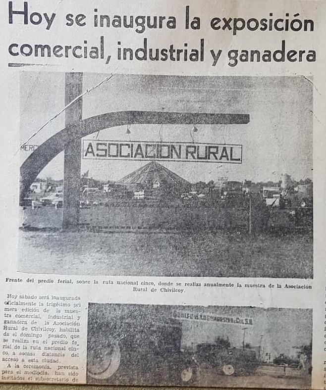 Pinceladas históricas de la Asociación Rural de Chivilcoy