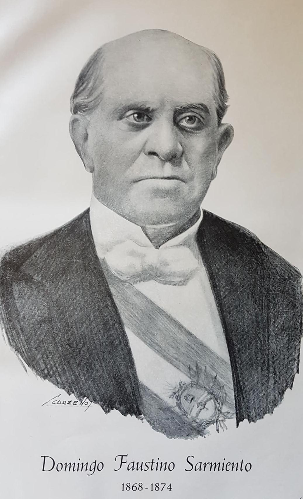 El Sesquicentenario, del célebre discurso de Domingo Faustino Sarmiento, en Chivilcoy, el sábado 3 de octubre de 1868.