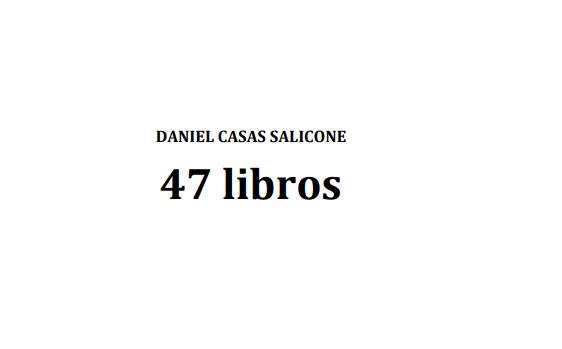 Daniel Casas Salicone – 47 libros